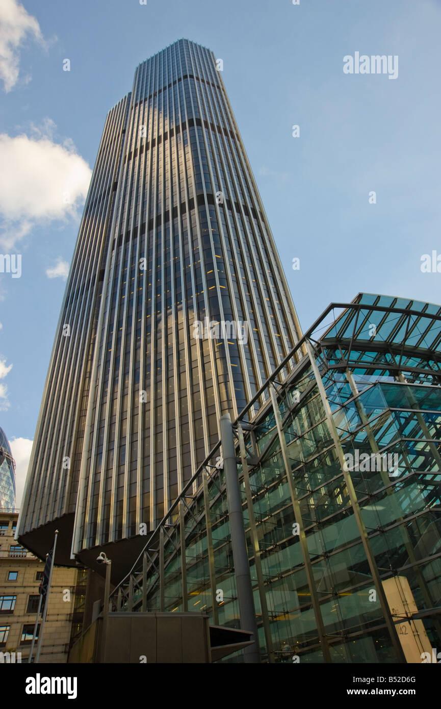 Tower 42 25 old Broad Street, London EC2 N 1HQ Tower 42 ist das höchste Gebäude in der City of London Stockbild