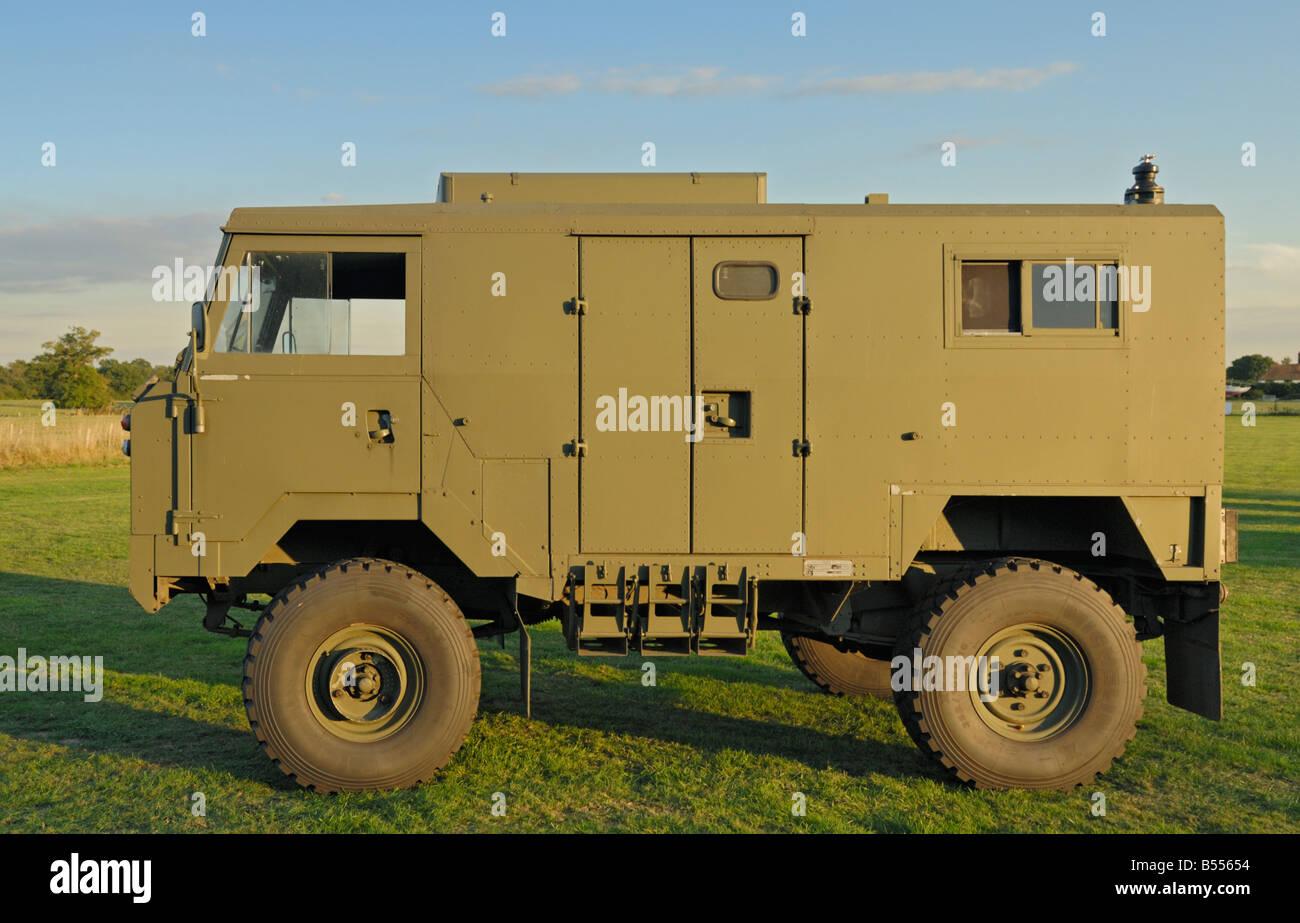 ex-militär land rover 101 frontlenker in der version von einem so