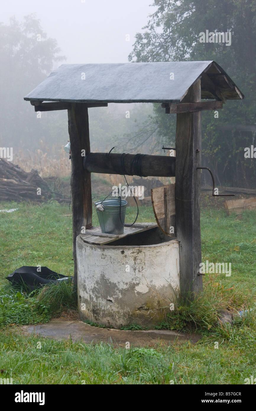 Auch in Crit sächsischen Dörfern Siebenbürgen Rumänien Stockbild