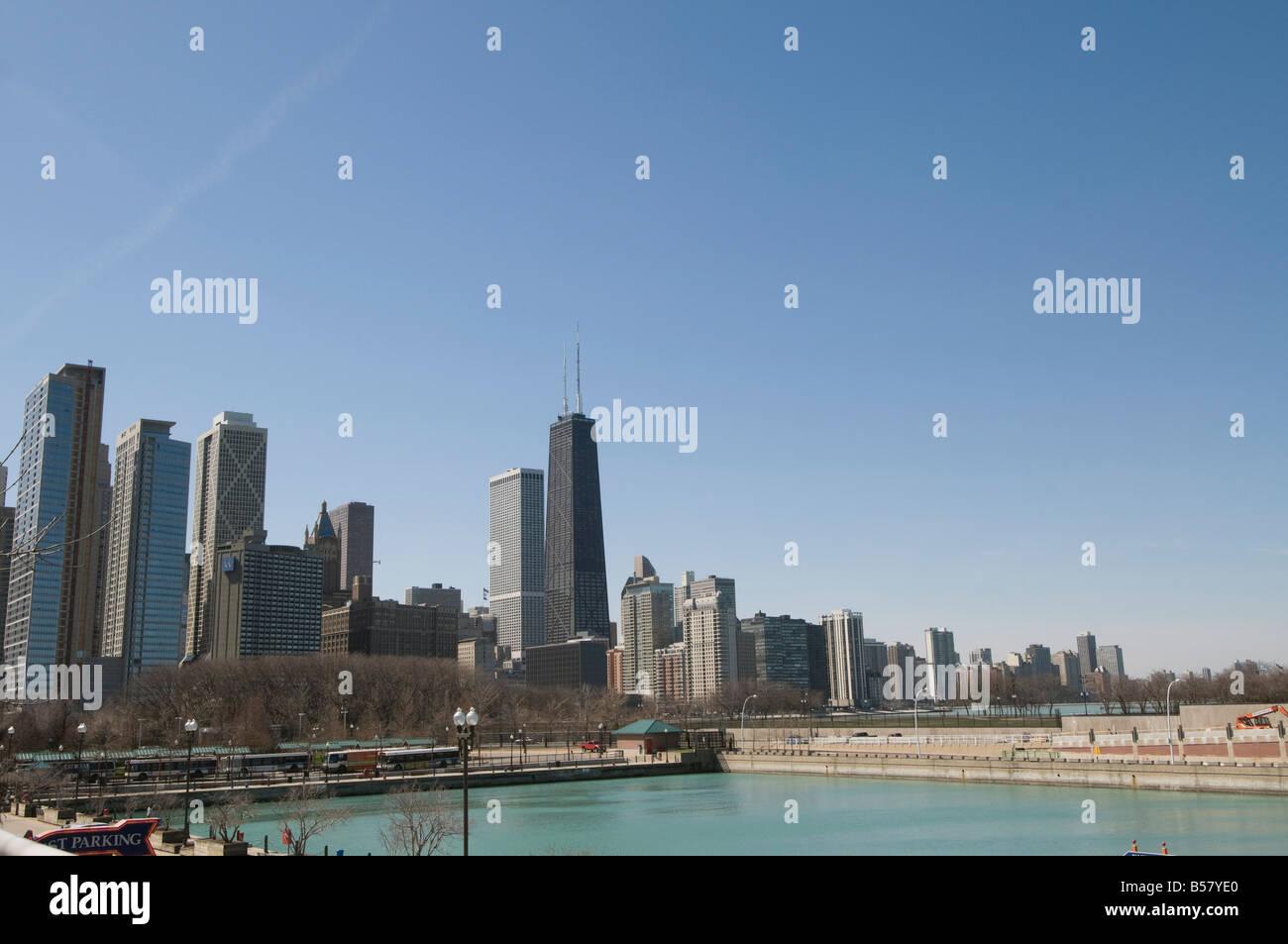 Chicago, Illinois, Vereinigte Staaten von Amerika, Nordamerika Stockbild