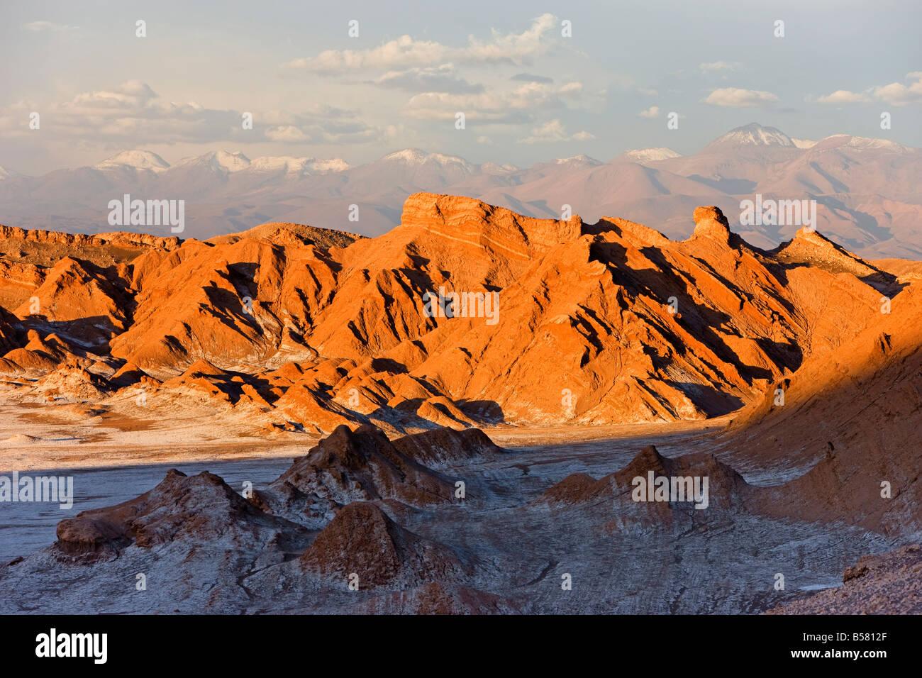 Valle De La Luna (Tal des Mondes), Atacama-Wüste, Norte Grande, Chile, Südamerika Stockbild