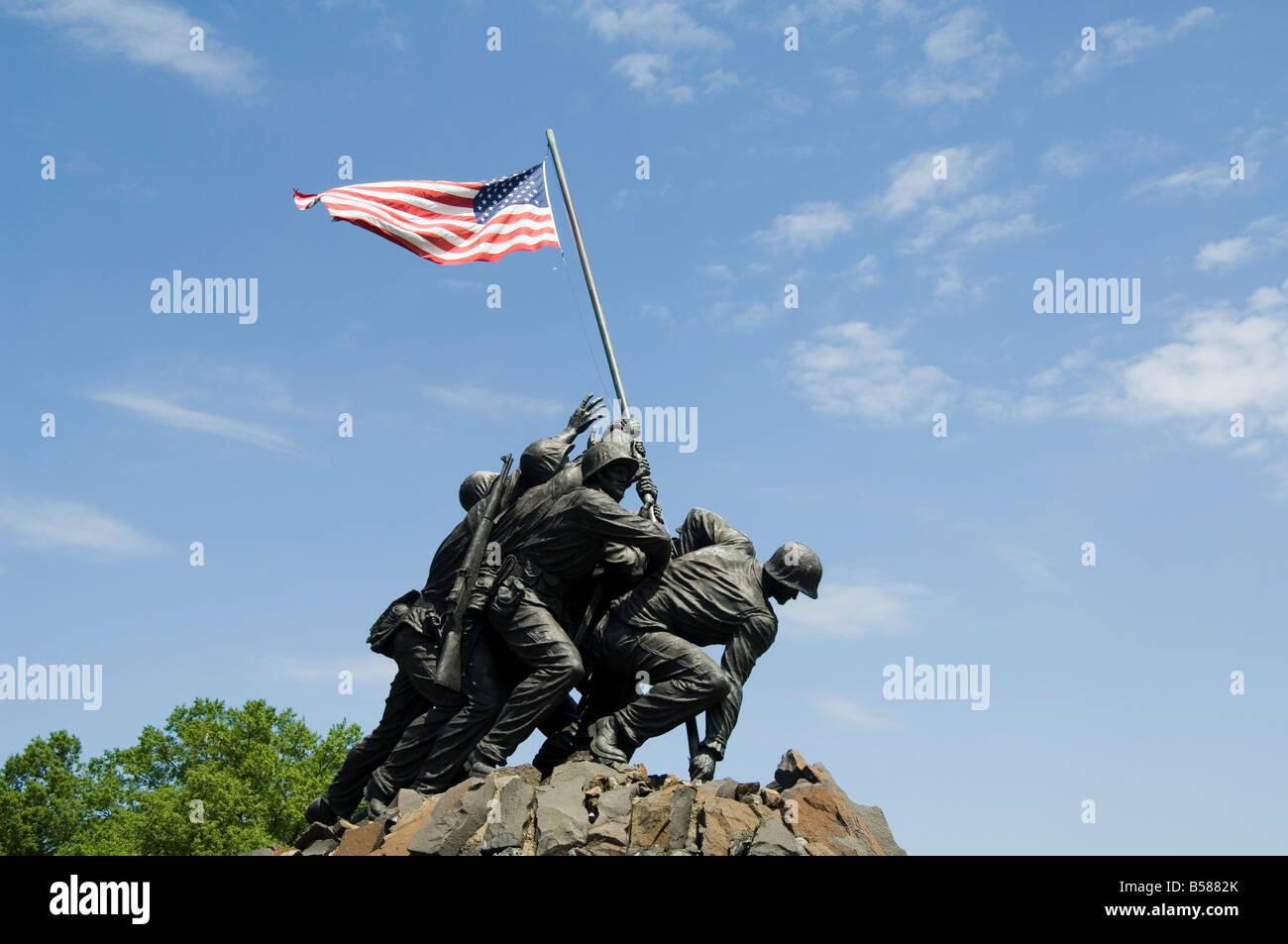 Briefe Von Iwo Jima : Freedom fighter memorial stockfotos