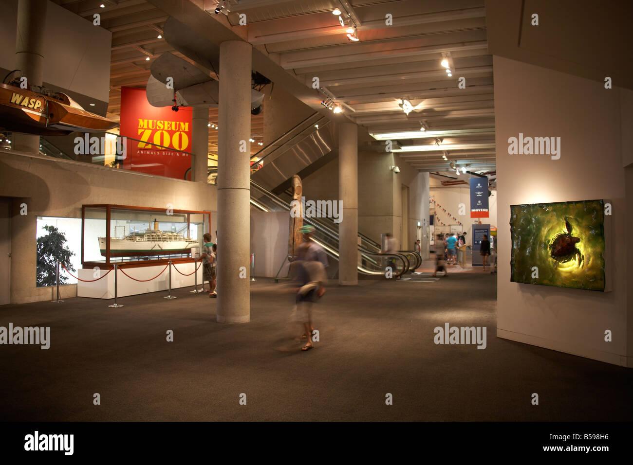 Australisch Familie Interieur : Interieur ausstellung museum zoo abend beleuchtung in brisbane