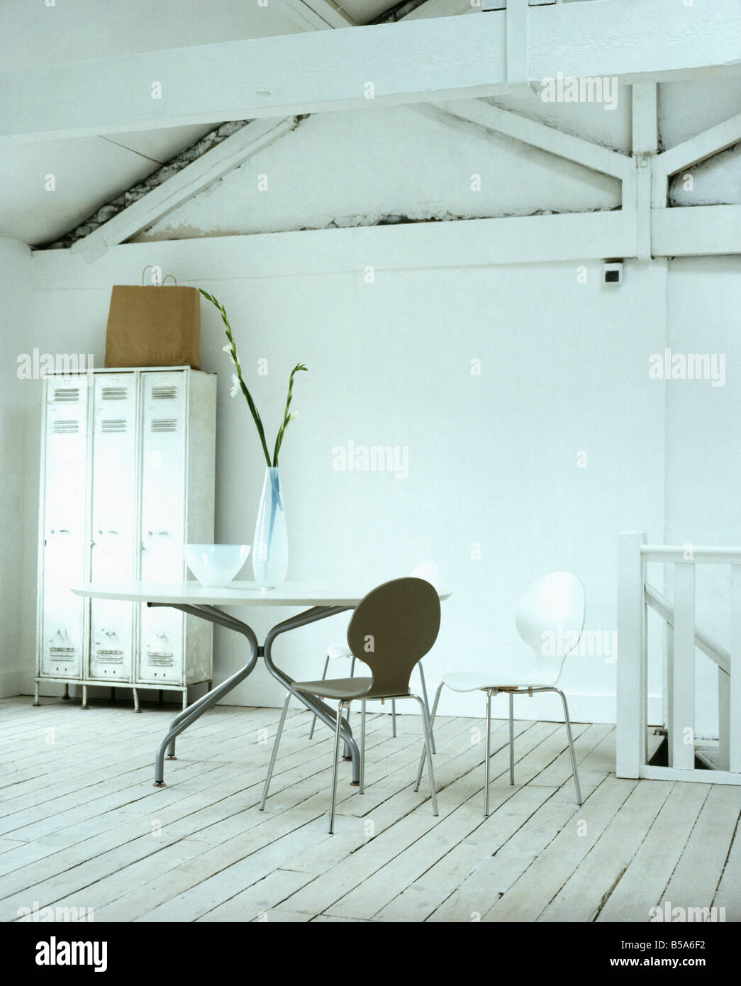 Ant Chair By Arne Jacobsen Stockfotos & Ant Chair By Arne Jacobsen ...