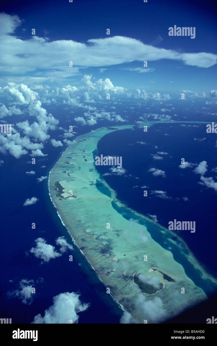 Malediven, Indischer Ozean Stockbild