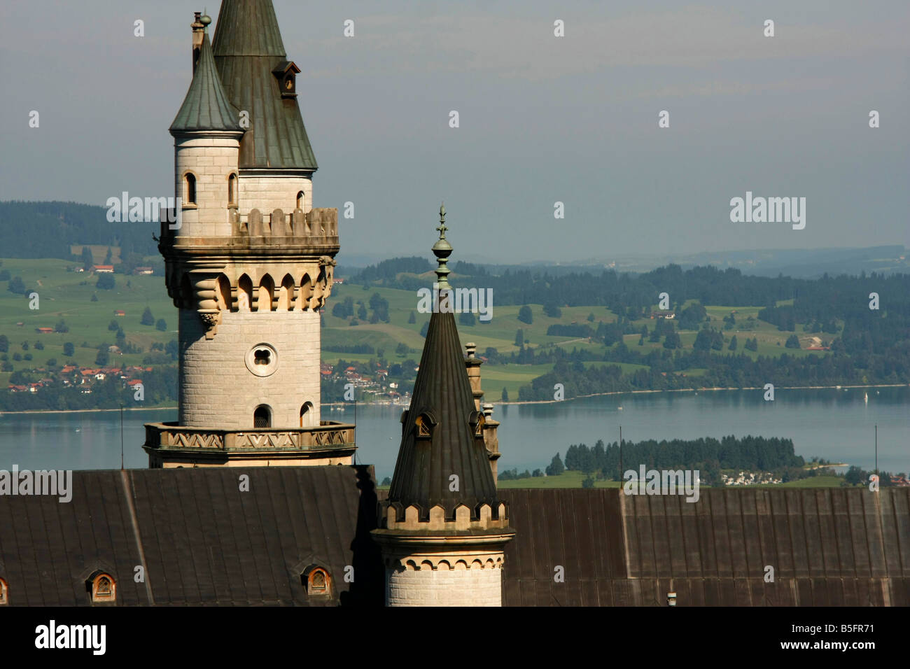 fuessen with forggensee stockfotos fuessen with forggensee bilder alamy. Black Bedroom Furniture Sets. Home Design Ideas