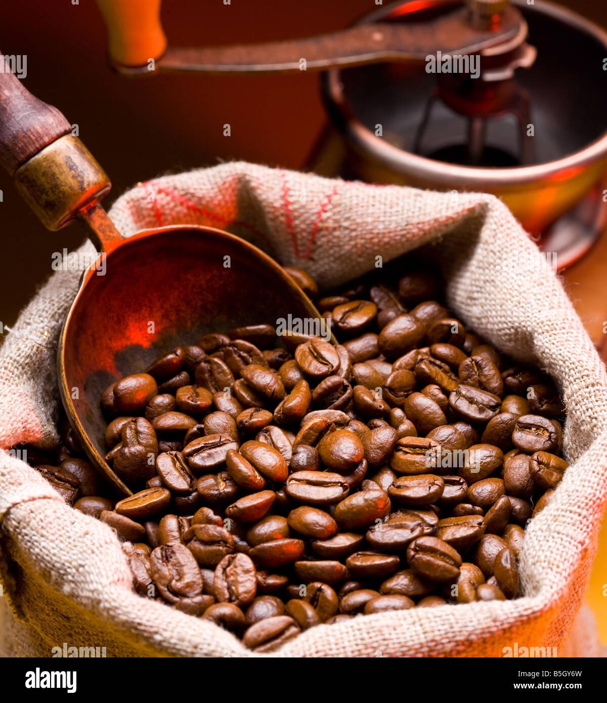 Kaffee ist in meschotschek Stockbild