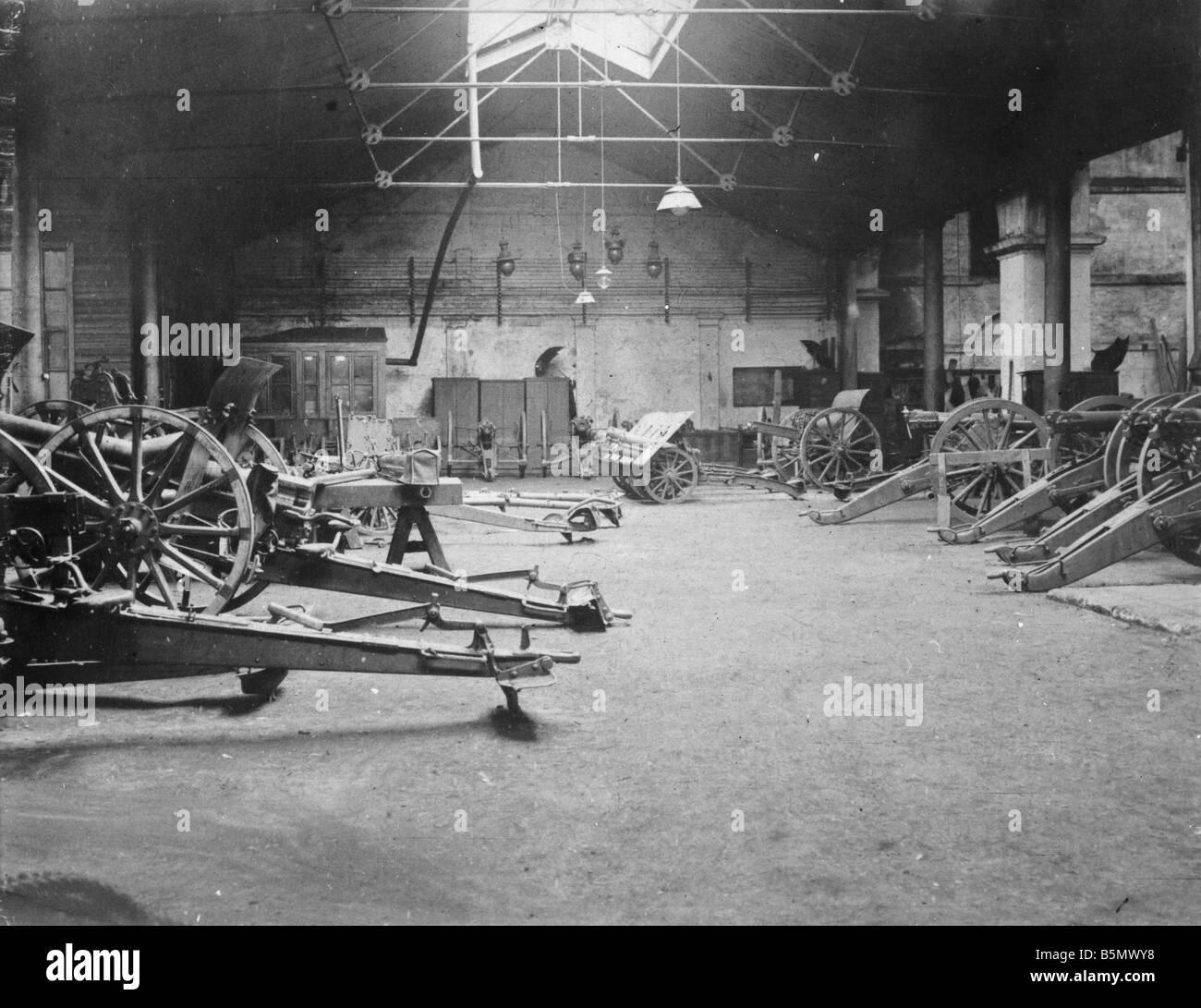 9TK 1916 0 0 A1 2 Waffe Fabriken Türkei Herbst 1916 Geschichte der Türkei 1. Weltkrieg Waffe Waffe und Stockbild