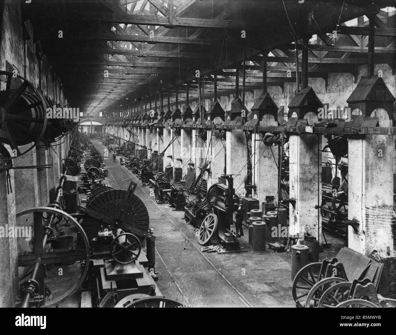 9TK 1916 0 0 A1 3 Waffe Fabriken Türkei Herbst 1916 Geschichte der Türkei 1. Weltkrieg Waffe Kanonen und Stockbild