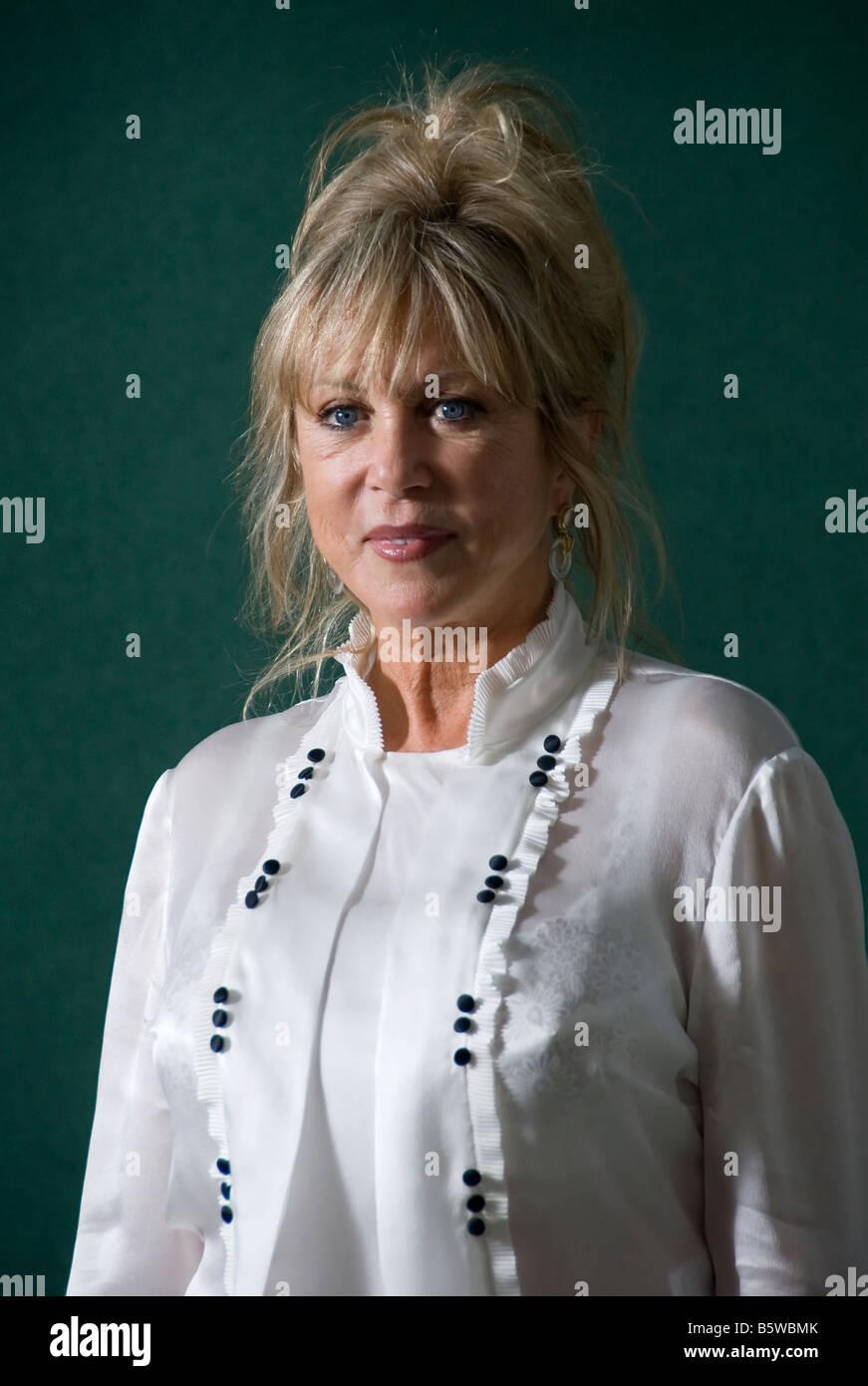 Patricia Anne Pattie Boyd auf der 2007 Edinburgh Buch-Festival. UK Stockbild