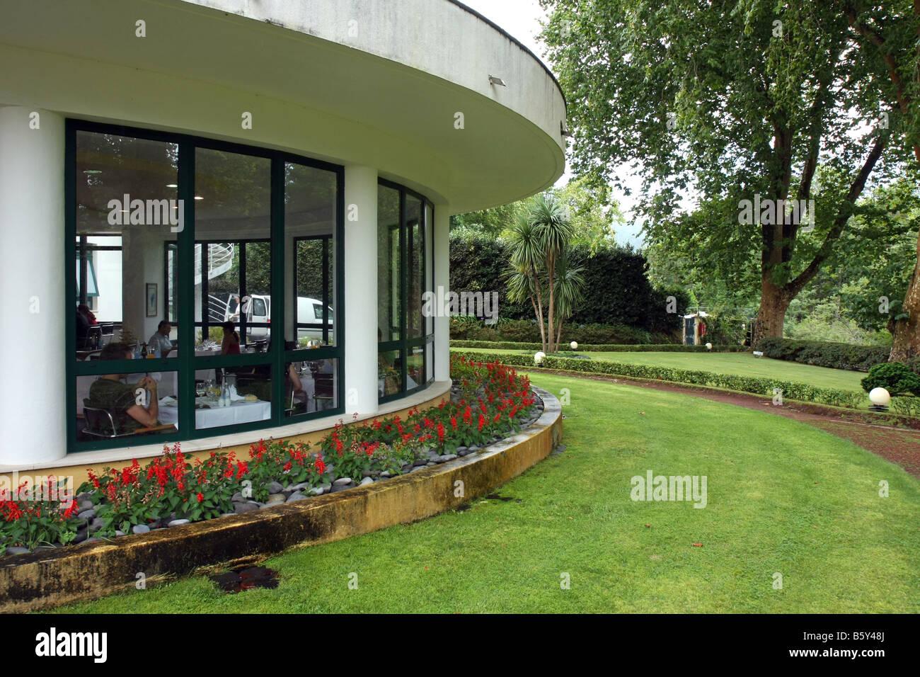 Der Speisesaal Im Terra Nostra Garden Hotel In Furnas Azoren