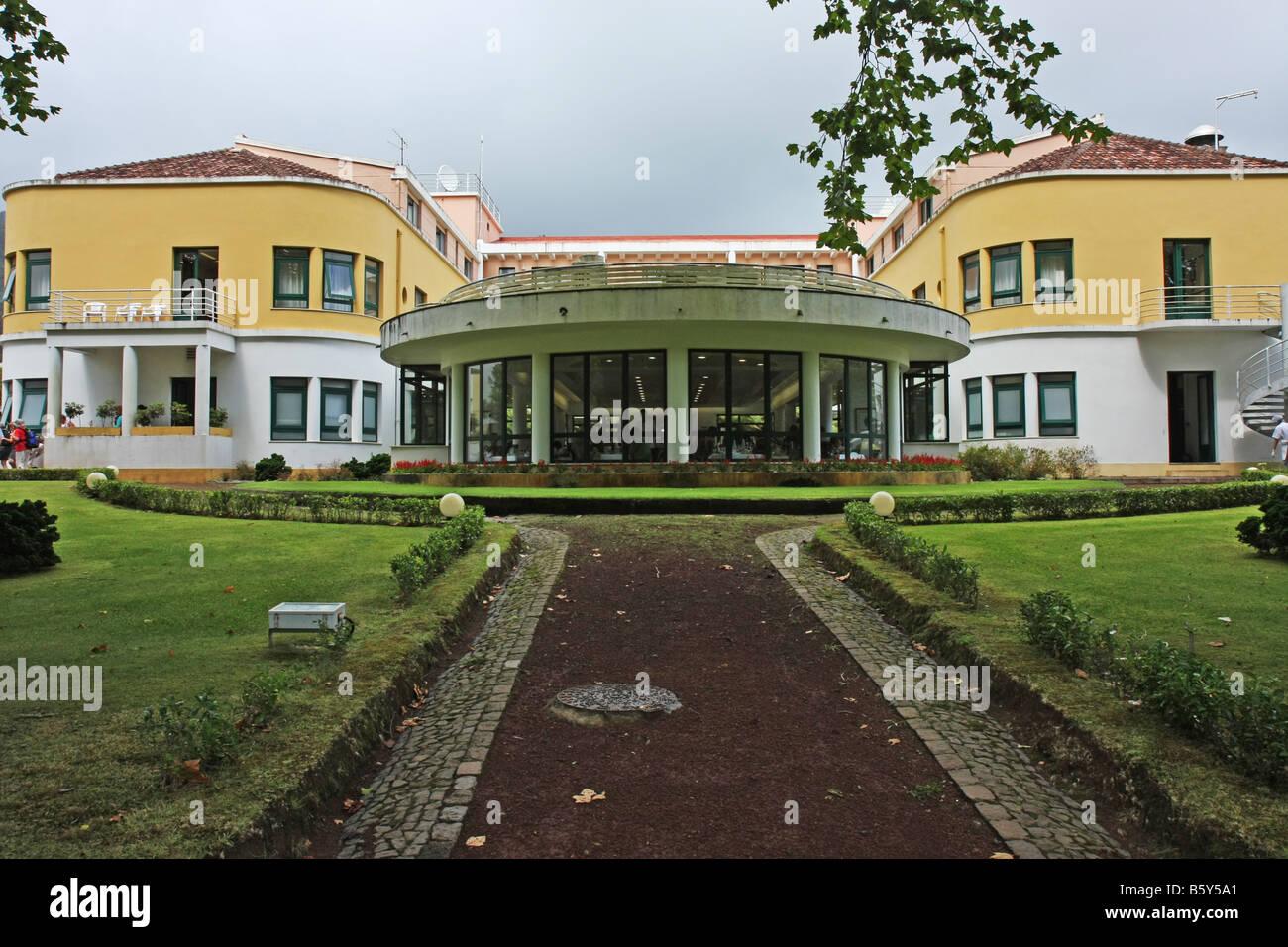 Das Terra Nostra Garden Hotel Im Terra Nostra Park Von Furnas