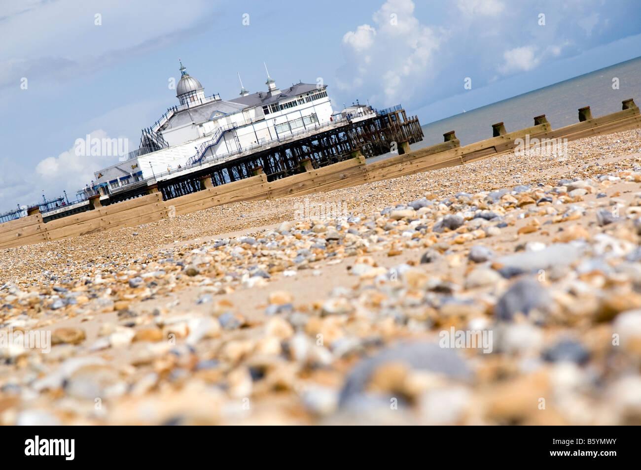 Eastbourne Pier, Sussex, England, UK. Stockfoto
