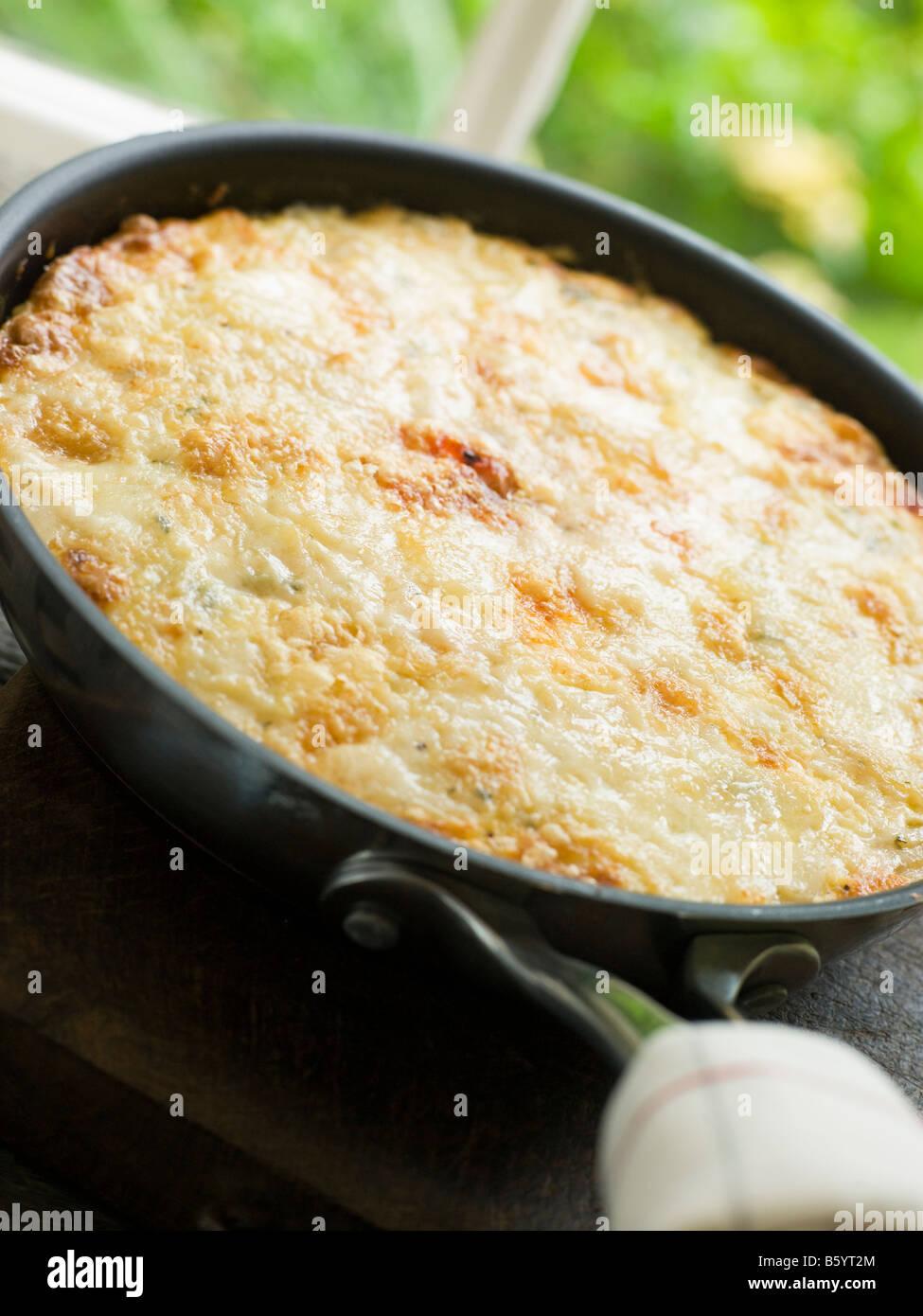 Spanische Omelette - Tortilla Stockbild