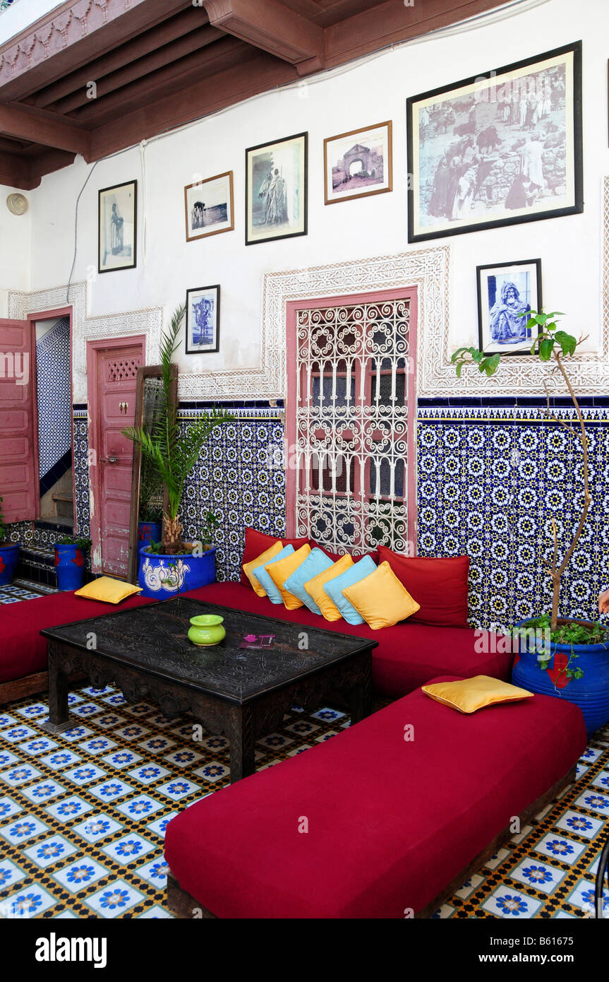 marokkanische fliesen stockfotos & marokkanische fliesen bilder - alamy