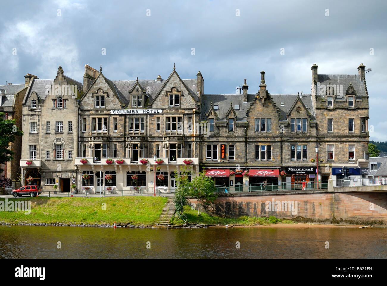 historische stadtzentrum fassaden von inverness. Black Bedroom Furniture Sets. Home Design Ideas