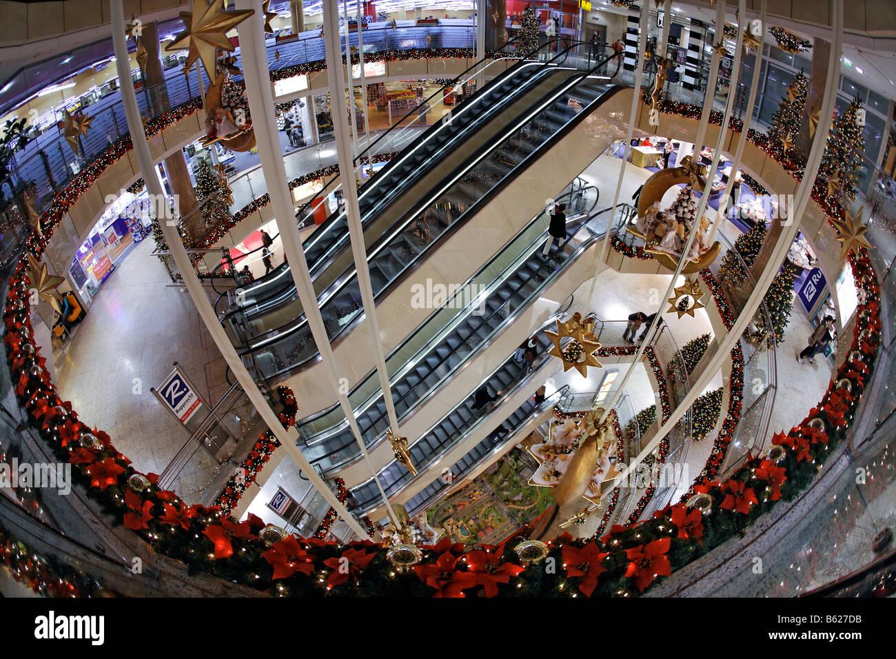 City Point Kaufhaus Dekoriert Für Weihnachten Shopping Center
