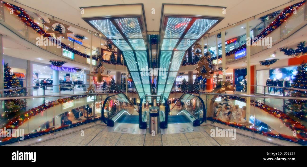 Kaufhaus Dekoriert Für Weihnachten Einkaufszentrum Citypoint