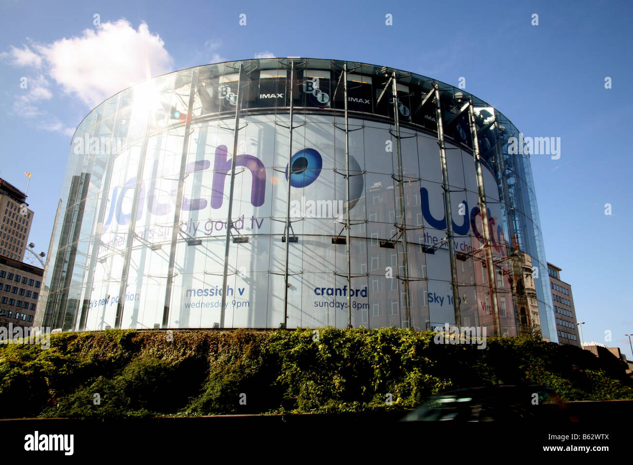 BFI IMAX Kino London Waterloo Stockbild