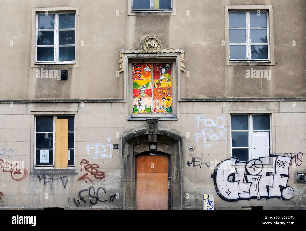 Perfect Graffiti Stockbild