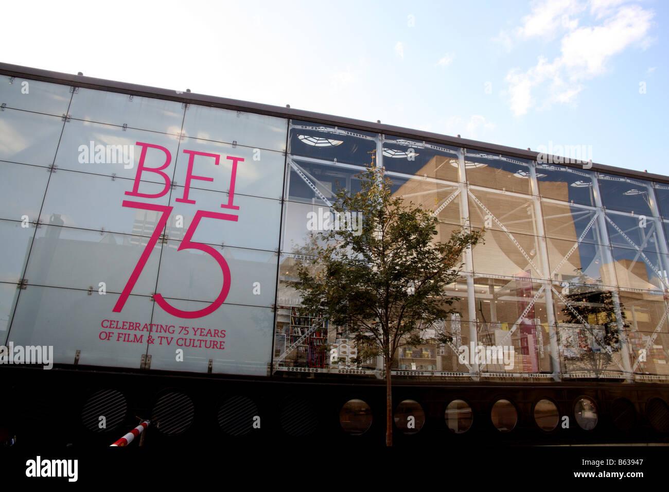 British Film Institute South Bank London Stockbild