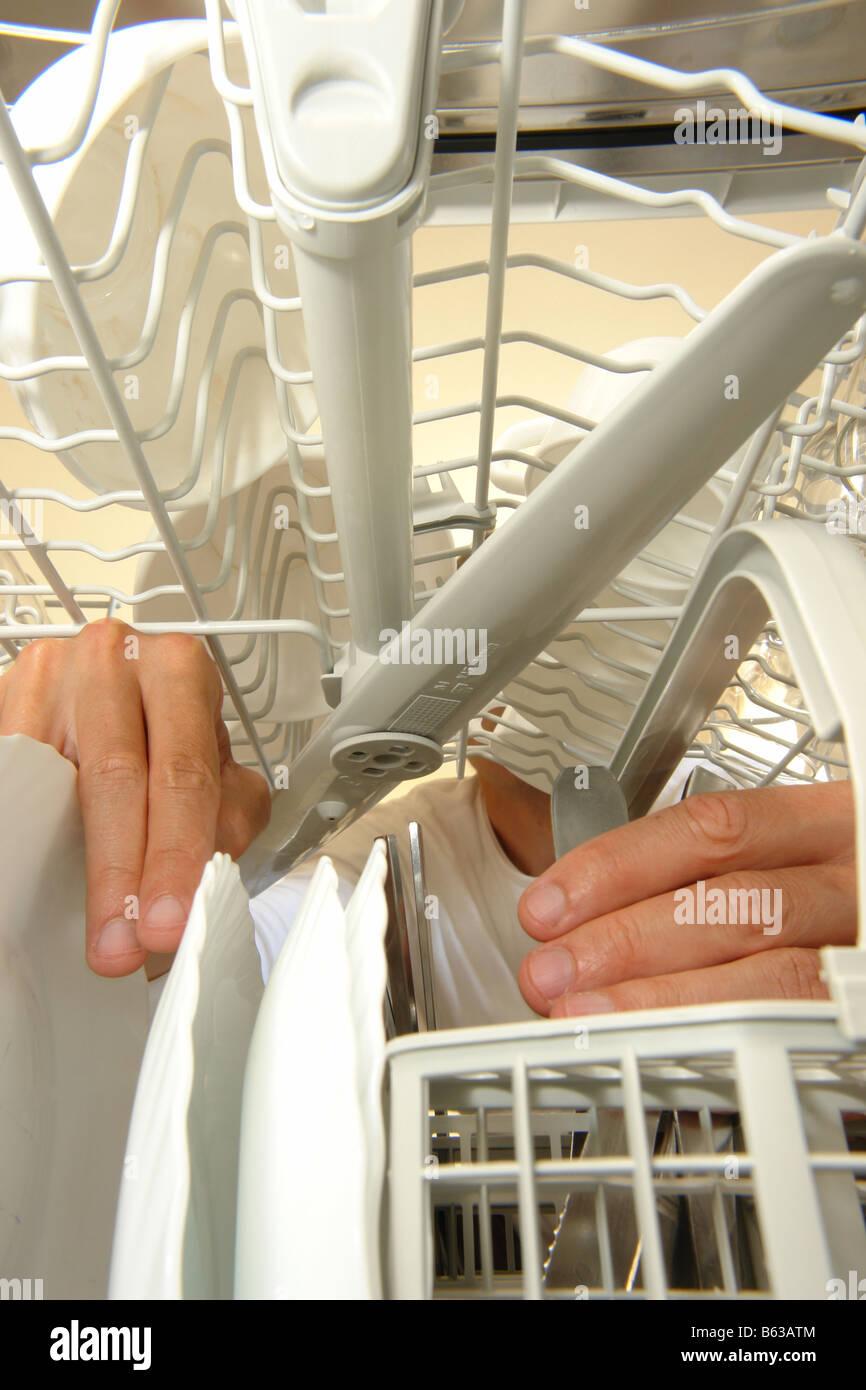Neue Spulmaschine In Einer Kuche Stockfoto Bild 20972692 Alamy