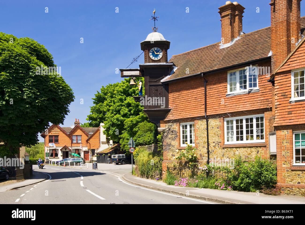 Abinger Hammer, Surrey, England, UK Stockbild