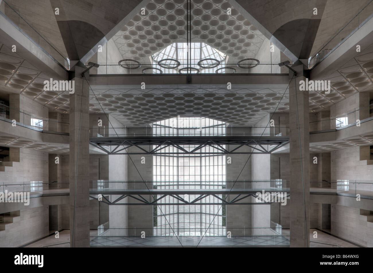 Museum für islamische Kunst, Doha, Katar Stockbild