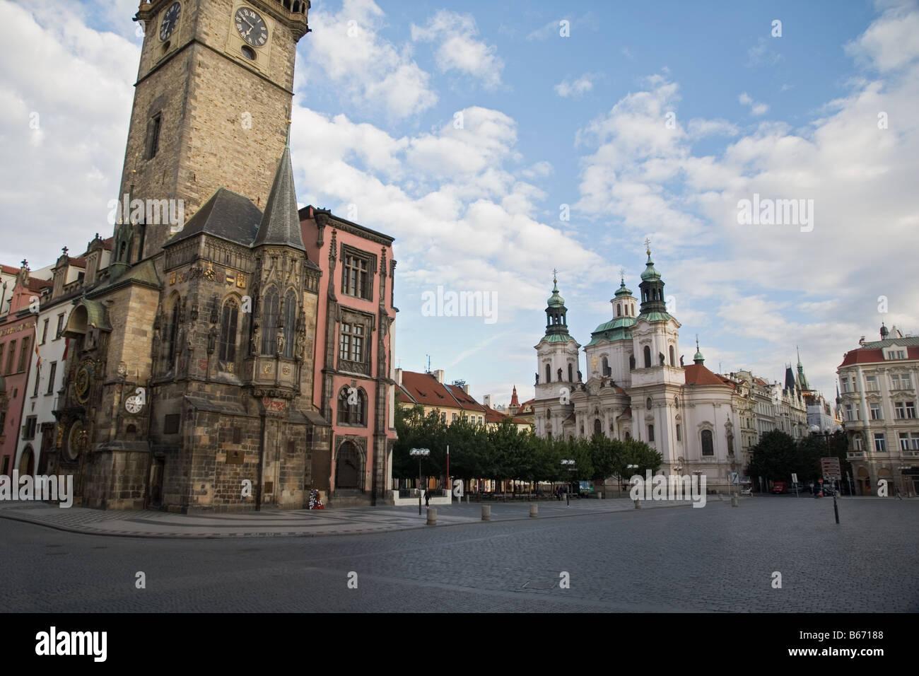 Astronomische Uhr von Prag Stockbild