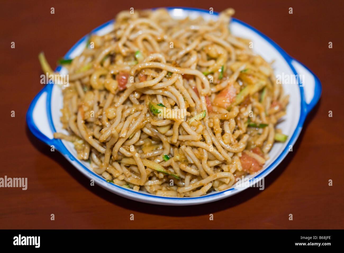 china noodles stockfotos china noodles bilder alamy. Black Bedroom Furniture Sets. Home Design Ideas
