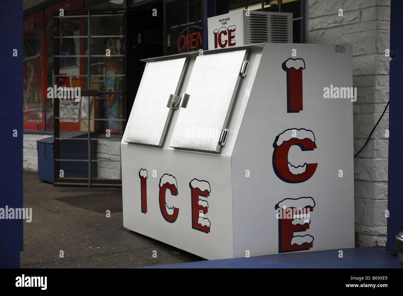 Kühlschrank Querformat : Kanada canada bc brittische british columbia ice box eissschrank