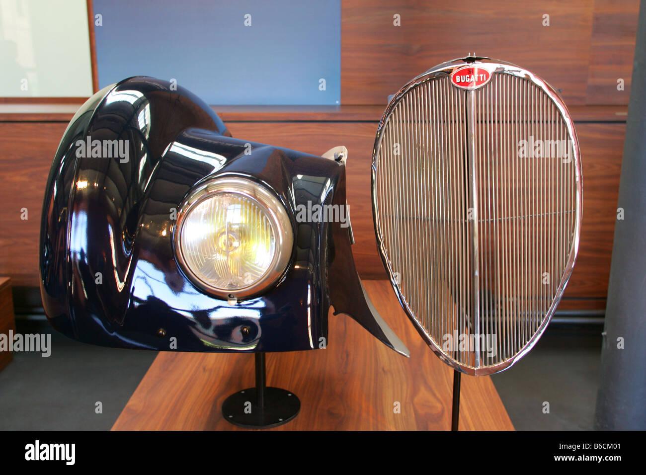 National Motor Museum in Mulhouse Frankreich Stockbild