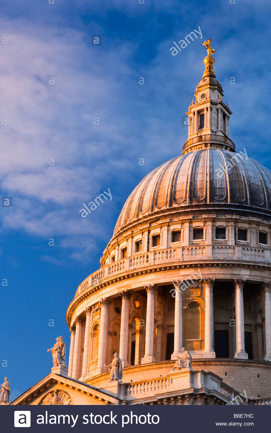 St. Pauls Cathedral, London, UK. Stockbild