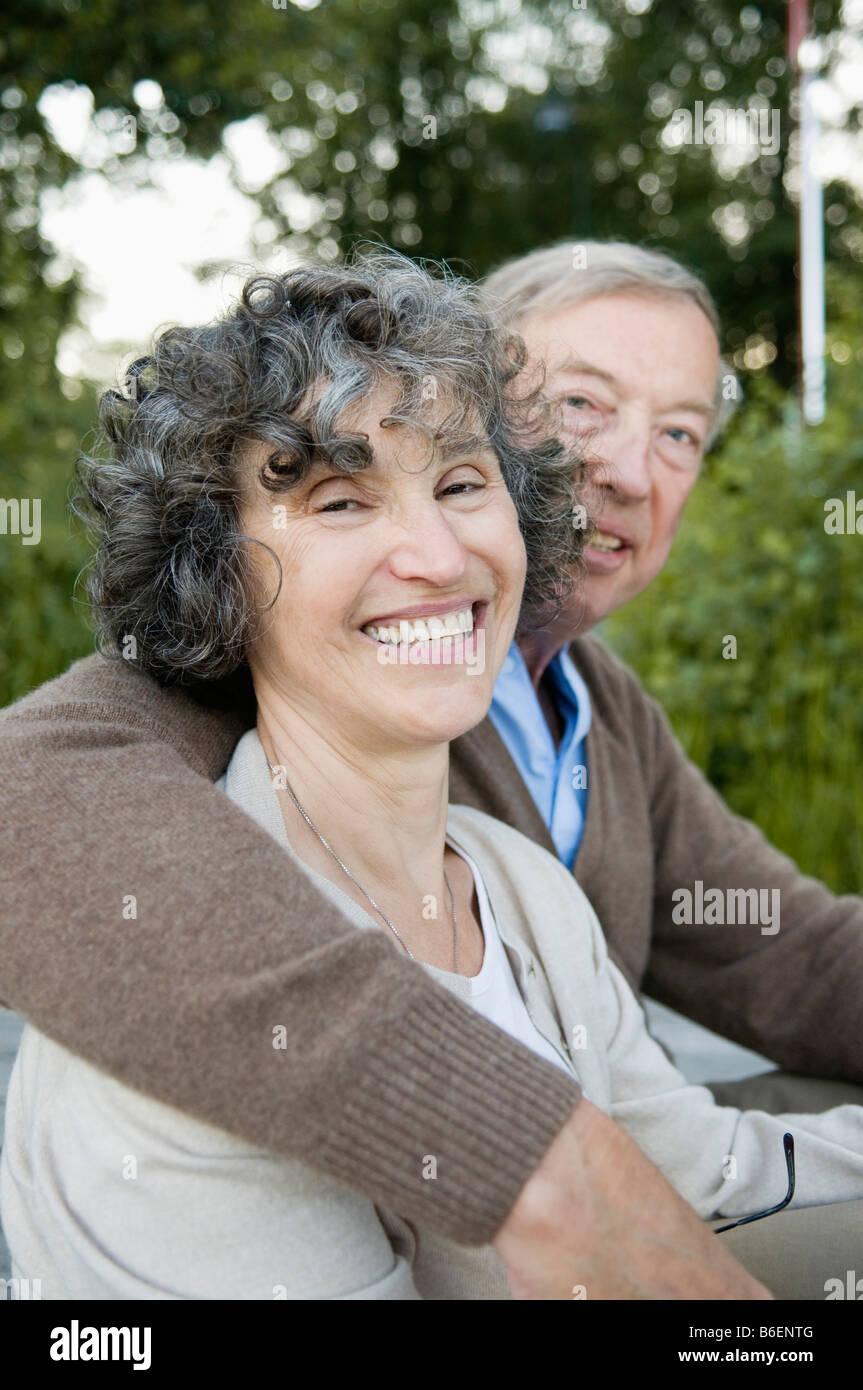Mann-Betrieb-Frau Stockbild