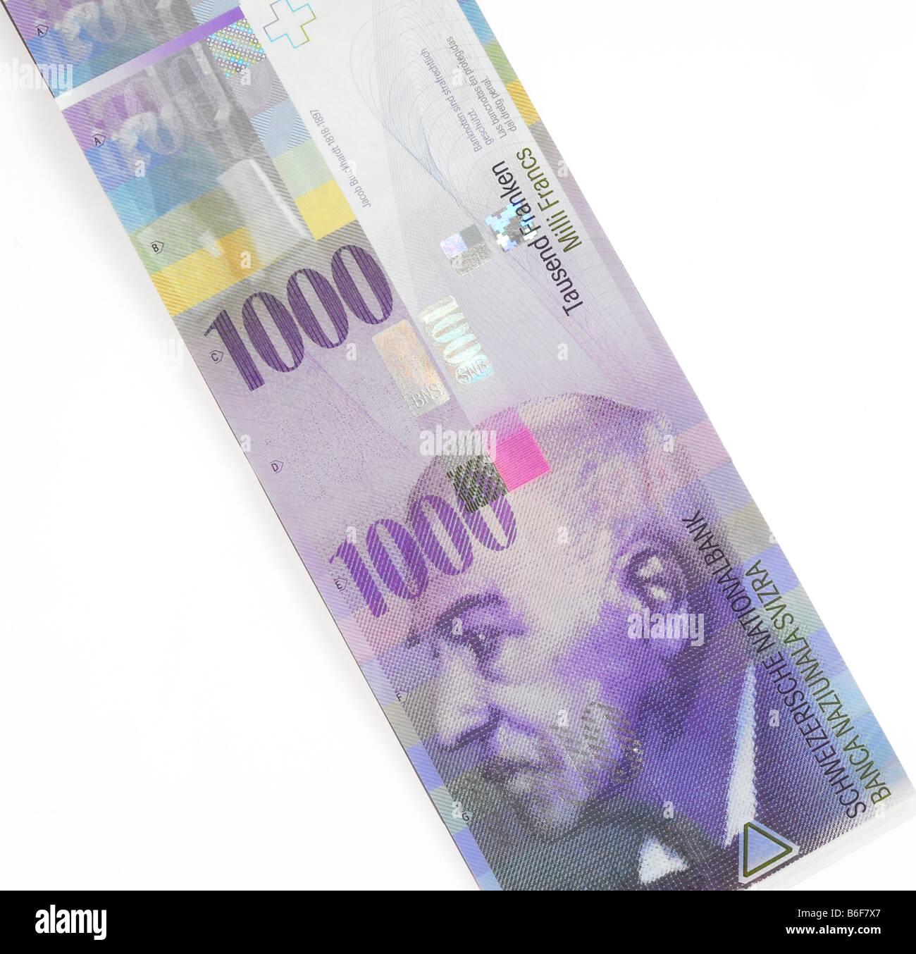 1000 oder tausend schweizer franken banknote schweiz stockfoto bild 21233807 alamy. Black Bedroom Furniture Sets. Home Design Ideas