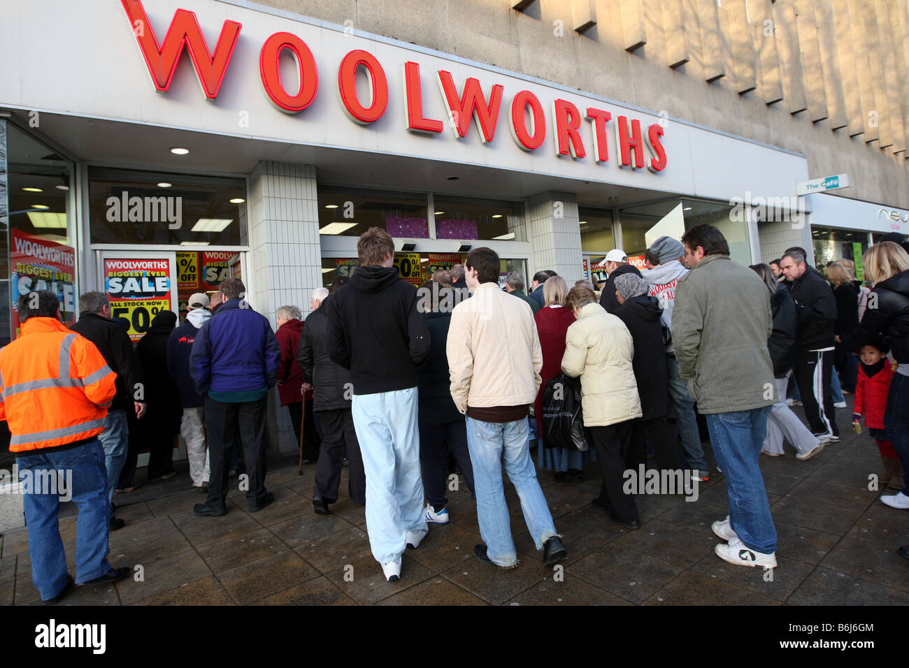 Woolworths Shoppers Stockfotos & Woolworths Shoppers Bilder