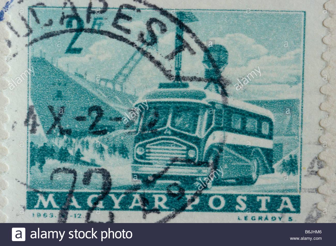 Einen Brief Aus Ungarn Verschicken Stockfotos Einen Brief Aus