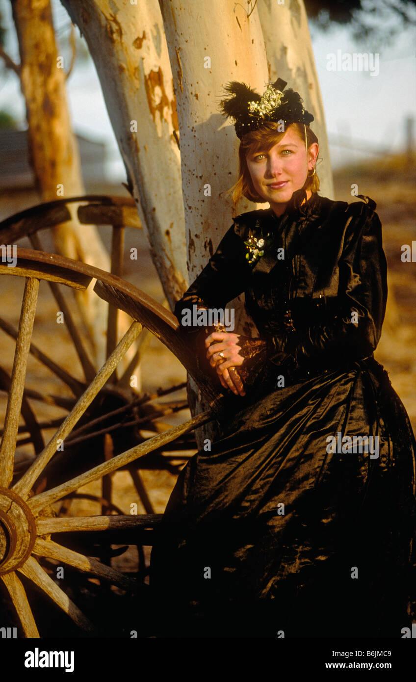 junge Frau im Barossa Valley South Australia deutscher Herkunft ...