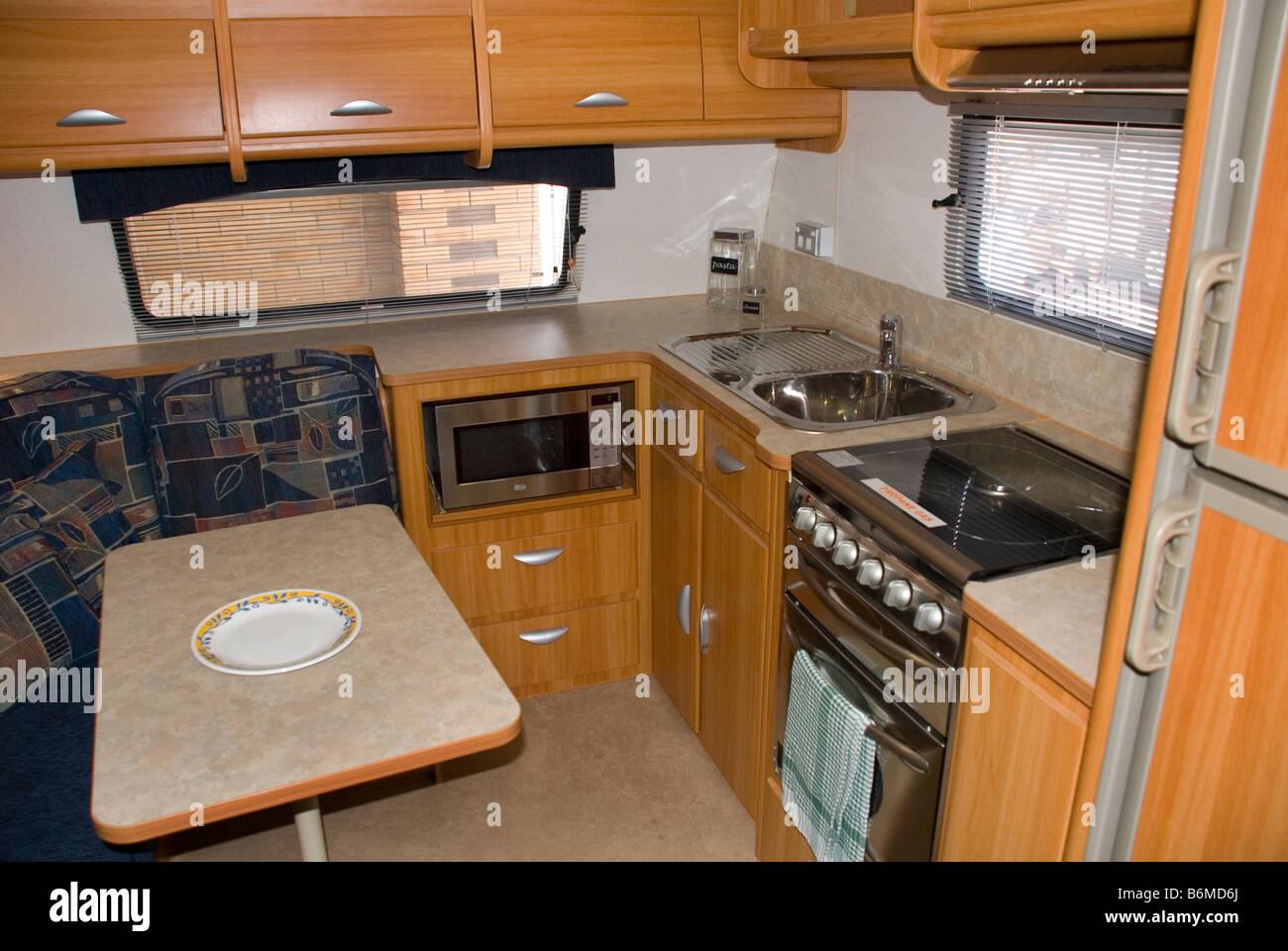 Interior The Family Caravan Stockfotos & Interior The Family Caravan ...