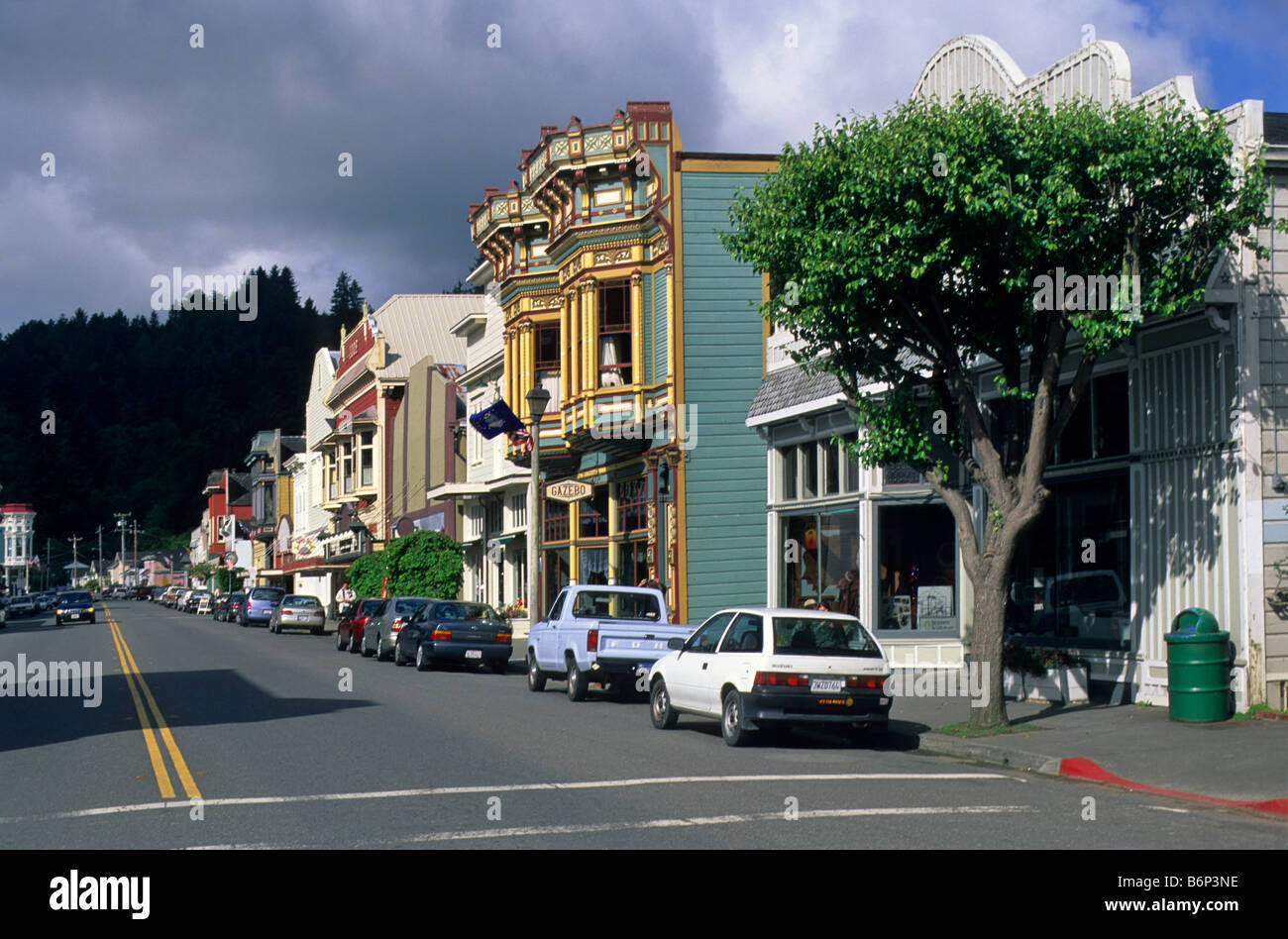 Scene Rustic Storefront Stockfotos & Scene Rustic Storefront Bilder ...