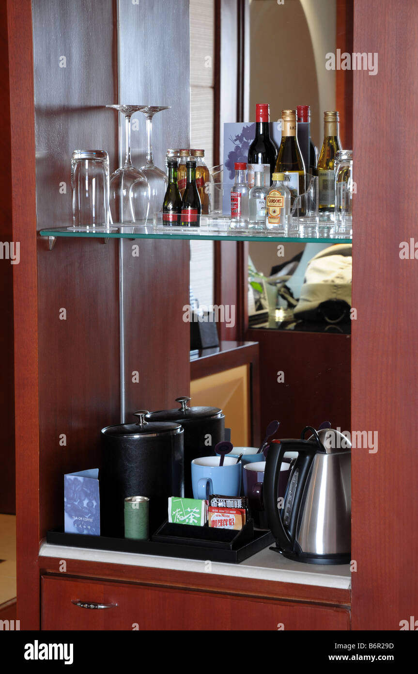 Hotel Mini Bar Stockfotos & Hotel Mini Bar Bilder - Alamy