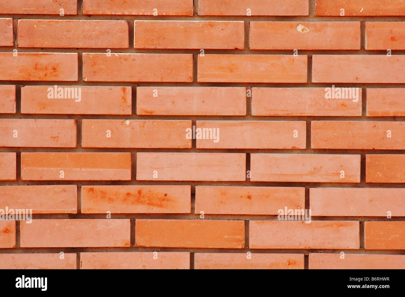 Ziegel-Wand-Hintergrund Stockbild