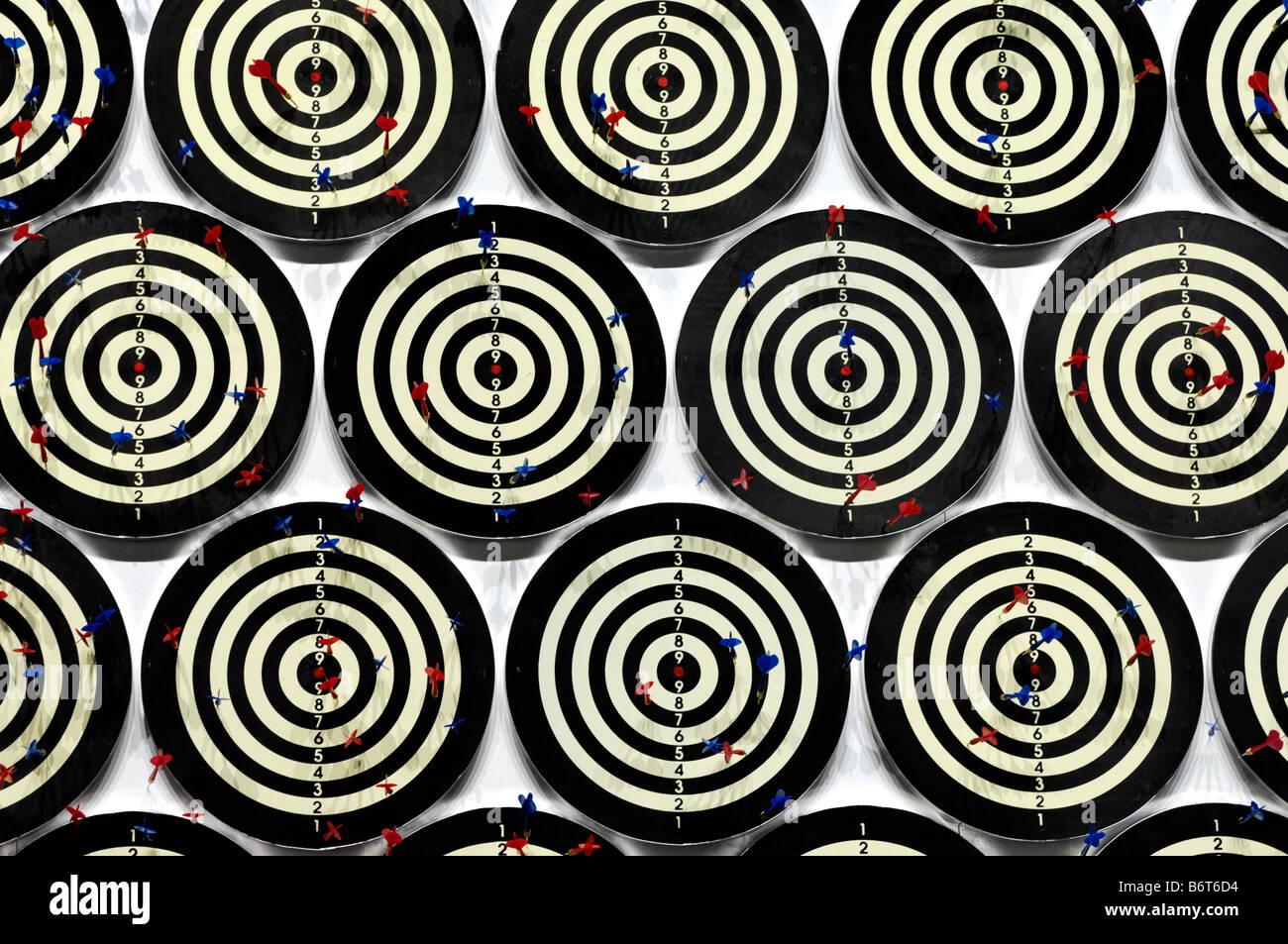 Darts Stockbild