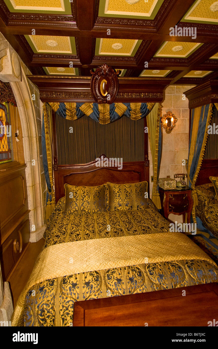 Cinderella Castle Suite Schlafzimmer Magic Kingdom Walt ...