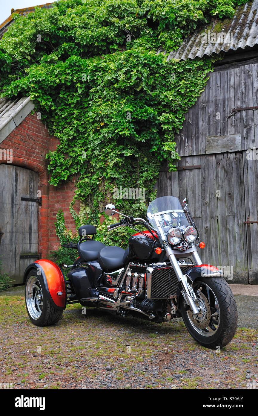 Grinnall Triumph Trident Trike Stockfotografie   Alamy