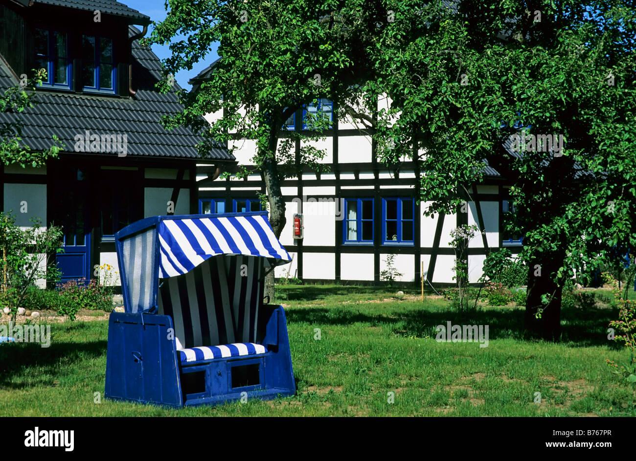 Usedom Warthe Lieper Winkel Strandkorb Garten Land Haus Mecklenburg