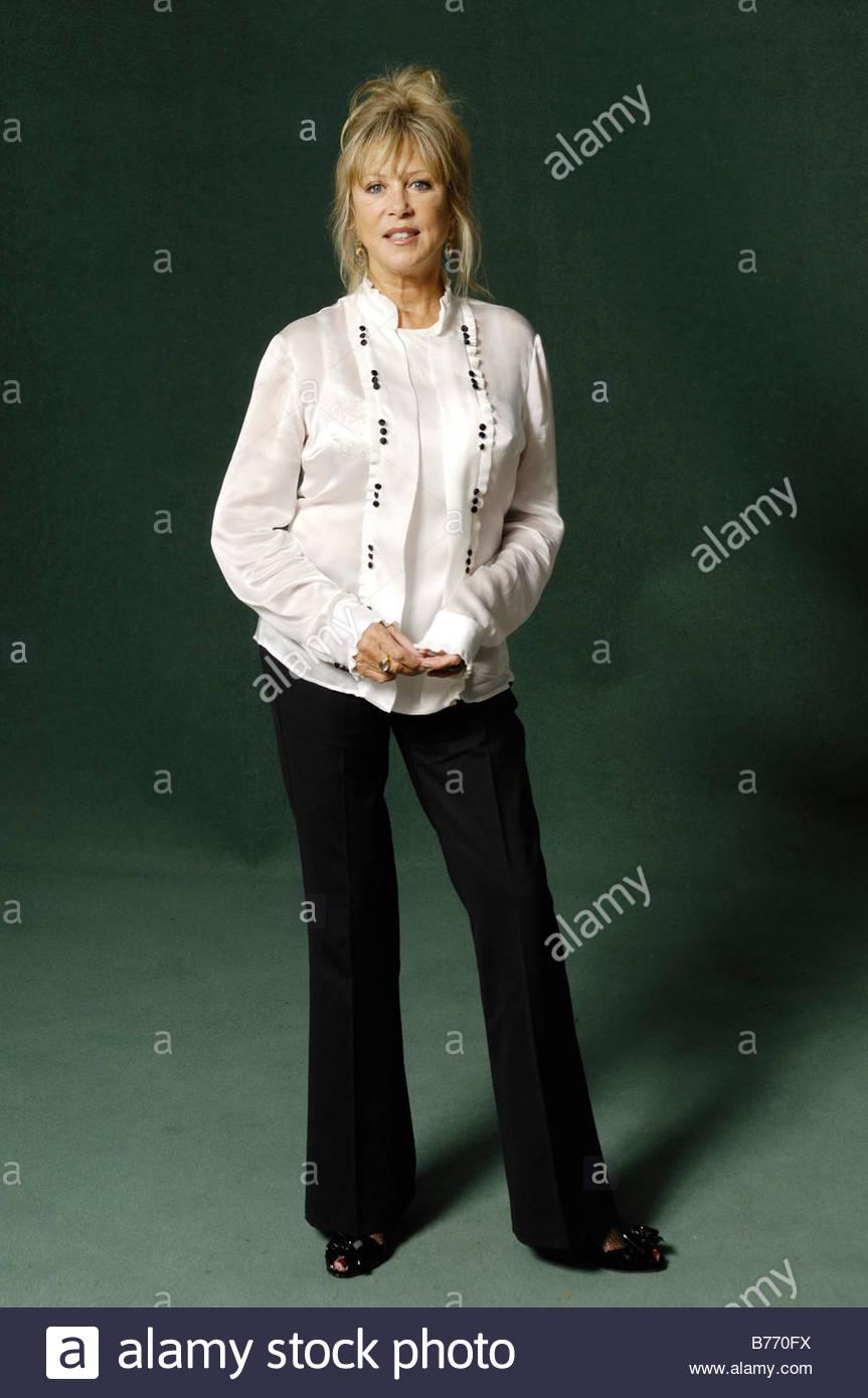 Pattie Boyd Sixies Supermodel und Fotograf Stockbild