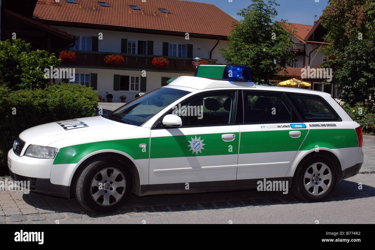 deutsche Polizei Stockbild