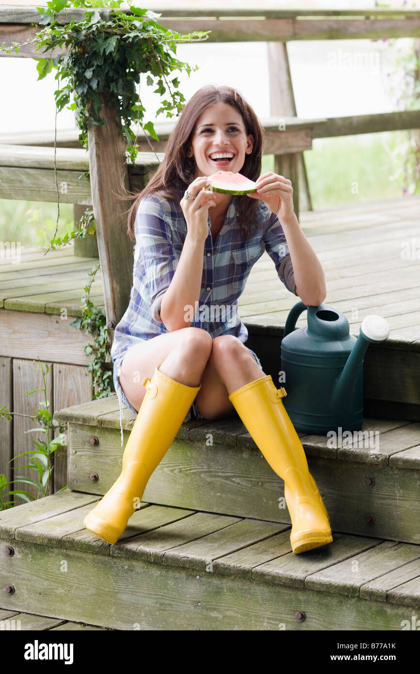 rubber boots stockfotos rubber boots bilder alamy. Black Bedroom Furniture Sets. Home Design Ideas