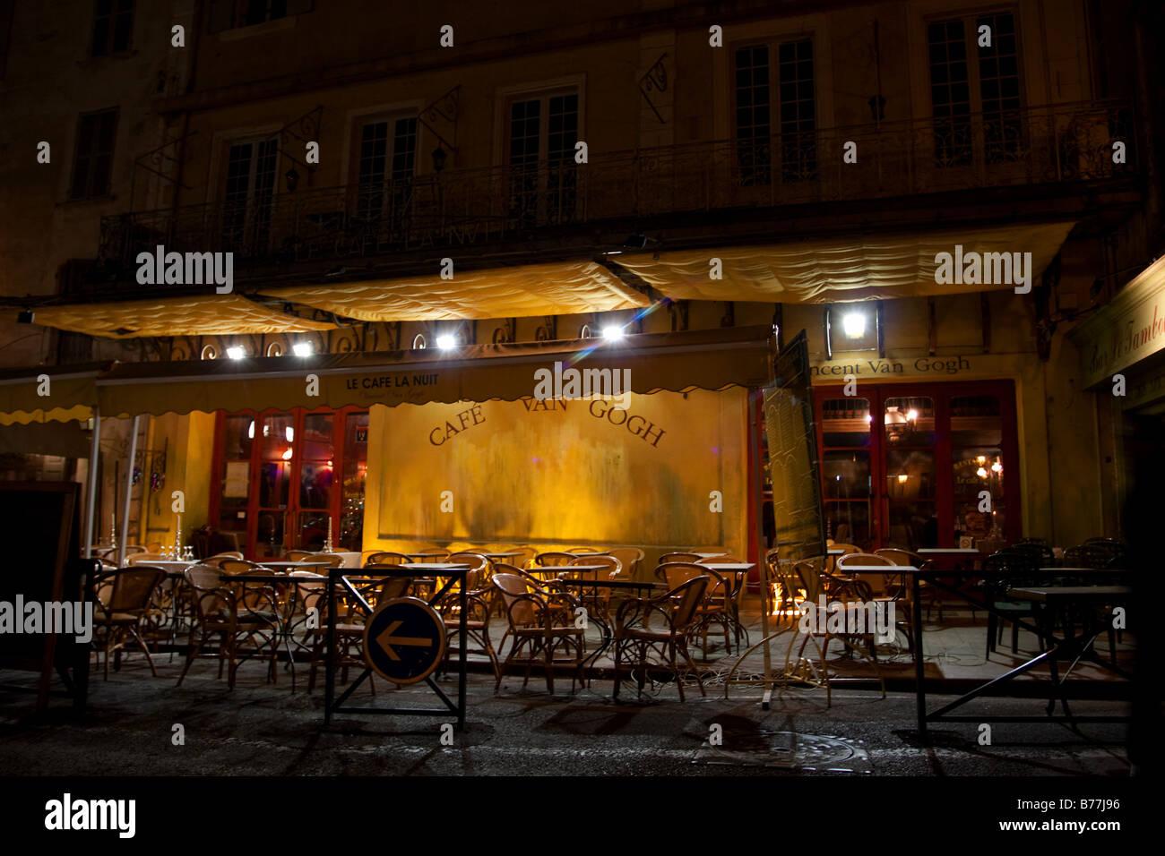 Das Cafe Van Gogh Arles Bouches Du Rhone Frankreich Gemalt Von